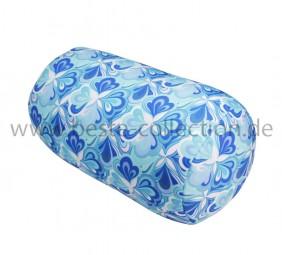 Tube Kleeblatt blau - Schlauchform