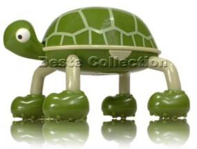 Turtle die Massageschildkröte Grün