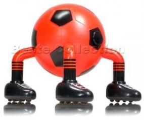 Massage Fussball Schwarz / Rot